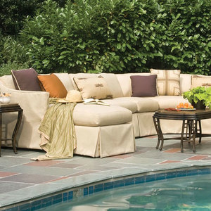 Harrison Outdoor Slipcover Upholstery Collection by Lane Venture