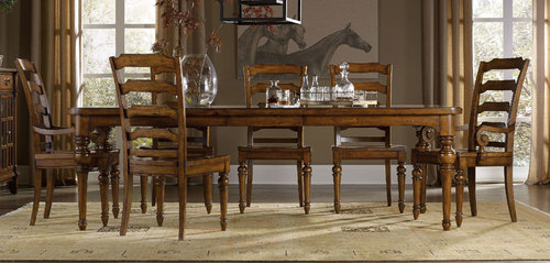 Tynecastle - ENTIRE 7 Pc. DINING ROOM