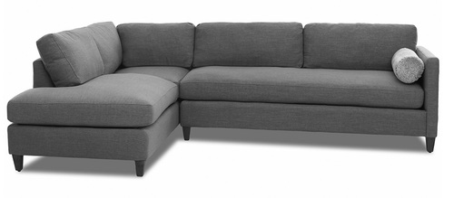 "Layout A: Three Piece Sectional (Chaise Left Side) 82"" x 111"""