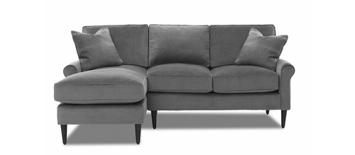 "Layout A: Two Piece Sectional (Chaise Left Side) 60"" x 86"""