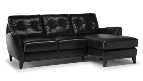 "Layout B: Two Piece Sectional (Chaise Right Side) 87"" x 61"""