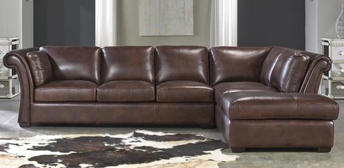 All Leather 2 Piece Sectional