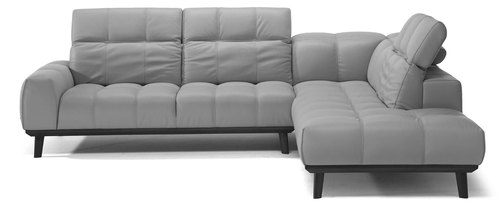 Two Piece All Leather Sectional