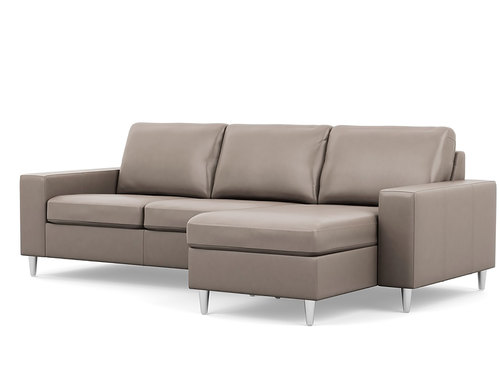 Bello Chaise Sofa Sectional (Chaise Left or Right Side)