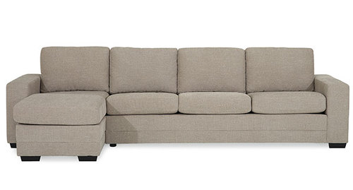 "Layout B: Two Piece Sectional (Chaise Left Side) 61"" x 121"""