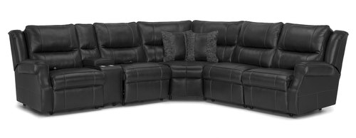 "Layout A: Six Piece Sectional 116.5"" x 103"""