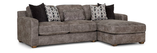 Two Piece Sectional (Chaise Right Side)
