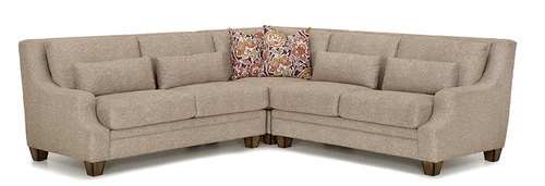 "Layout A: Bridget 850 Sectional 108.5"" x 108.5"""