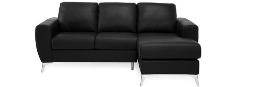 "Layout A: Two Piece Sectional (Chaise Right Side) 81"" x 61"""