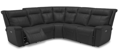 Five Piece Reclining Sectional (2 Recliners)