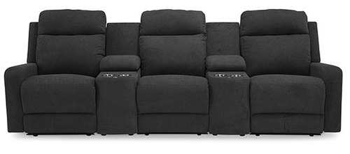"Layout Q:  Five Piece Sectional 110"" Wide"
