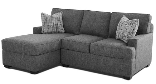 "Layout M:  Two Piece Sectional 63"" x 82"""
