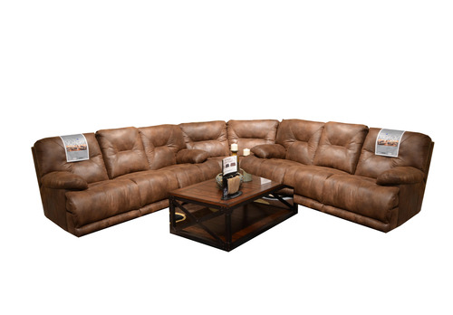 Layout A:  Includes - Reclining Sofa, Wedge and Reclining Sofa