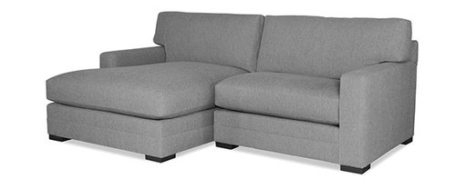 "Two Piece Sectional (Chaise Left Side) - 96"" Wide"