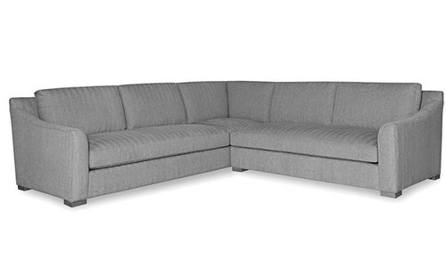 "Two Piece Sectional (112"" x 112"" ) Corner Sofa Left Side"