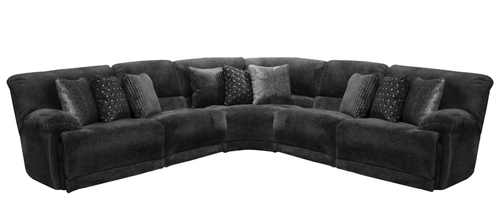 Layout C:  Five Piece Reclining Sectional