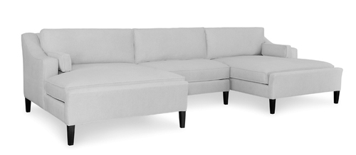 Hampton 3 Piece Sectional (140.5W x 66.5D x 39H)
