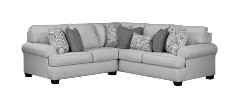 "Layout A:  Two Piece Sectional (98"" x 98"")"