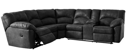 "Two Piece Reclining Sectional - 104"" x 117"""