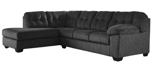"Layout A:  Two Piece Sectional (Chaise Left) 85"" x 121"""