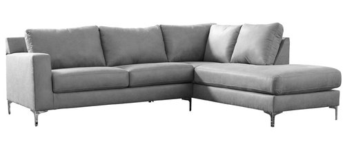 "Layout A:  Two Piece Right Chaise Sectional (108"" x 90"")"