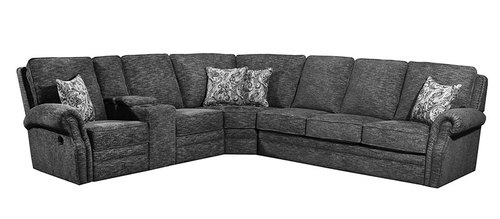 "Layout A:  Three Piece Reclining Sectional (92"" x 88"")"