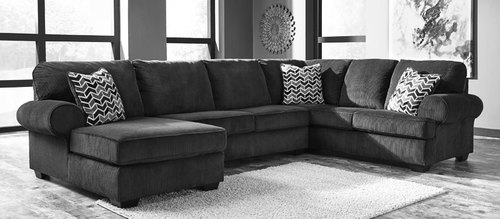"Layout B:  Three Piece Sectional (Chaise Left Side) 69"" x 145"" x 100"""