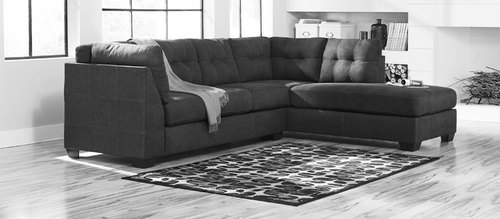 "Layout B: Two Piece Sectional (Chaise Right Side) 117"" x 88"""