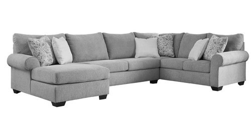 "Layout A:  Three Piece Sectional (Chaise Left Side)  - 60"" x 143"" x 92"""