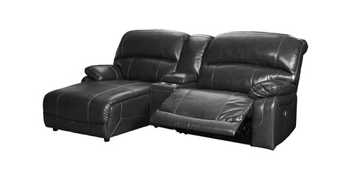 "Layout A:  Three Piece Reclining Recliner (Chaise Left) 64"" x 98"""