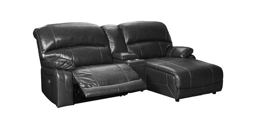 "Layout B:  Three Piece Reclining Recliner (Chaise Right) 98"" x 64"""