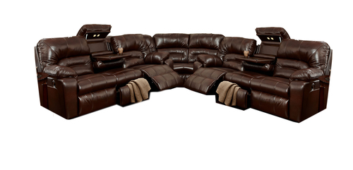 Includes Reclining Sofa W/ Drop Down Table, Seating Wedge And Reclining Sofa  W/ Drop Down Table