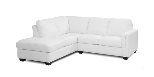 "Layout A:  Two Piece Sectional - 83"" x 92"""