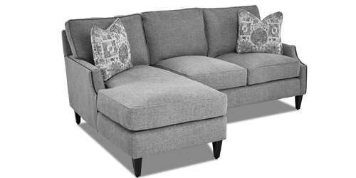 "Layout A:  Two Piece Sectional (Chaise Left Side) - 60"" x 82"""