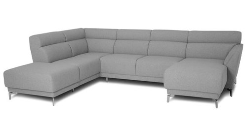 "Layout B:  Three Piece Sectional (Chaise Right Side) 88"" x 122"" x 60"""