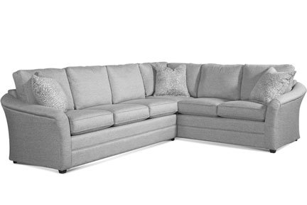 "Layout B:  Two Piece Sleeper Sectional (Queen Sleeper Left Side) 112"" x 90"""