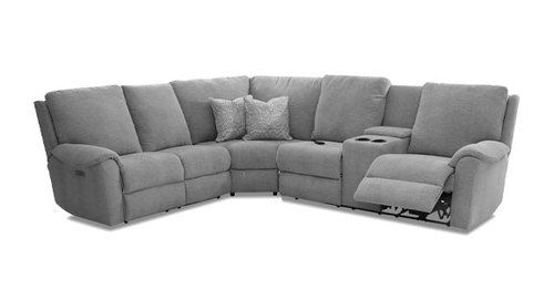 "Layout B:  Three Piece Sectional - 123"" x 107"""