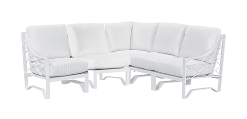"Layout A:  Five Piece Sectional - 86"" x 86"""