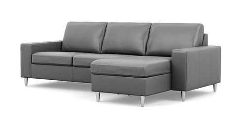 "Layout J:  Two Piece Sectional (Chaise Right) 94"" X 61"""
