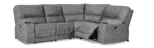 "Layout J: Four Piece Sectional 103"" x 80"""