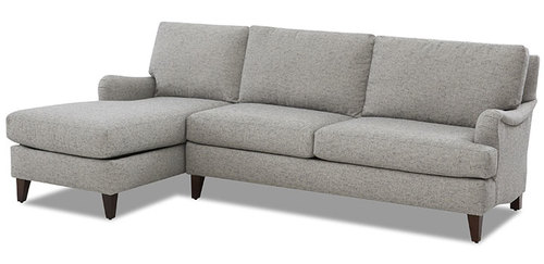 "Layout B: Two Piece Sectional 68"" x 92"""