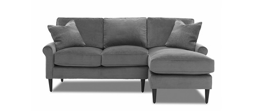 "Layout B: Two Piece Sectional (Chaise Right Side) 86"" x 60"""