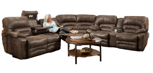 Legacy 3 Piece Reclining Sectional