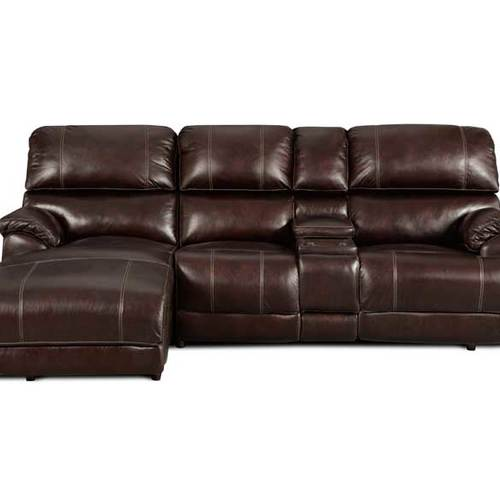 Presley 572 reclining sectional in chocolate sofas and for Sectional sofa configurations