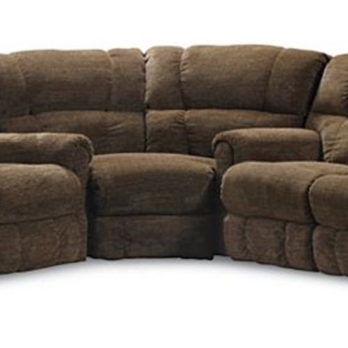 Griffin 327 reclining sectional in 4148 21 in sofas for Sectional sofa configurations