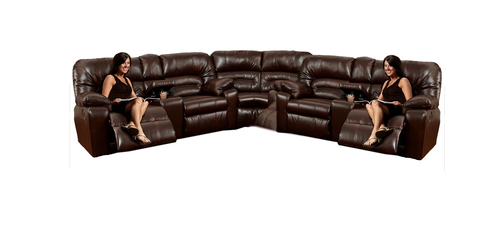 "Layout C: Three Piece Sectional 115"" x 115"""