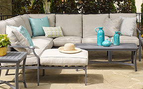 Layout B:  5 Piece Outdoor Sectional