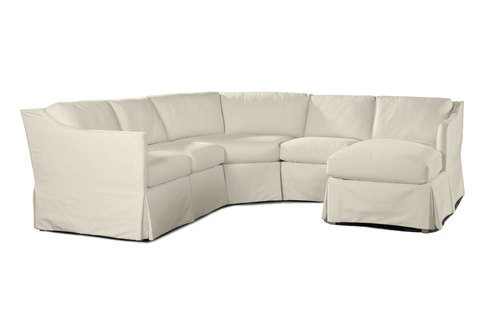Layout A: 4 Piece Outdoor Sectional