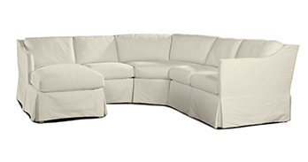 Layout B:  4 Piece Outdoor Sectional