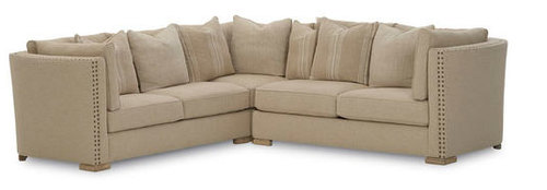 Madison 3 Piece Natural Sectional